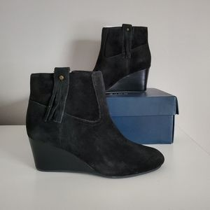 Cole Haan Elsie wedge booties NIB